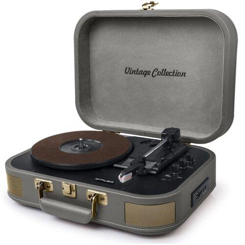 Gramofon MUSE MT-201 BTG Szary