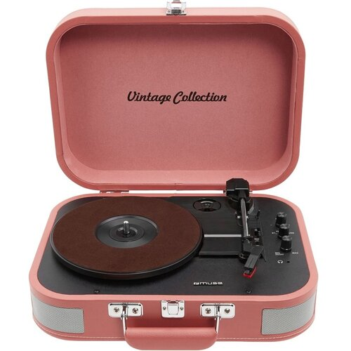 Gramofon MUSE MT-201 BTP Różowy