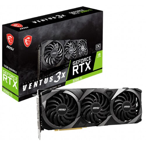Karta graficzna MSI GeForce RTX 3080 Ti Ventus 3X OC 12GB