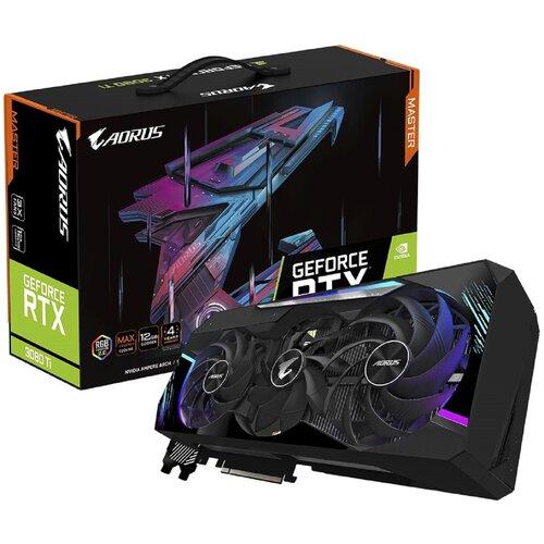 Karta graficzna GIGABYTE Aorus GeForce RTX 3080 Ti Master 12GB