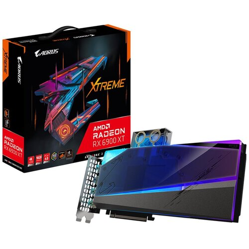 Karta graficzna GIGABYTE Aorus Radeon RX 6900 XT Xtreme WaterForce WB 16GB