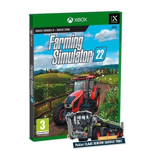 Farming Simulator 22 Gra XBOX ONE (Kompatybilna z Xbox Series X)