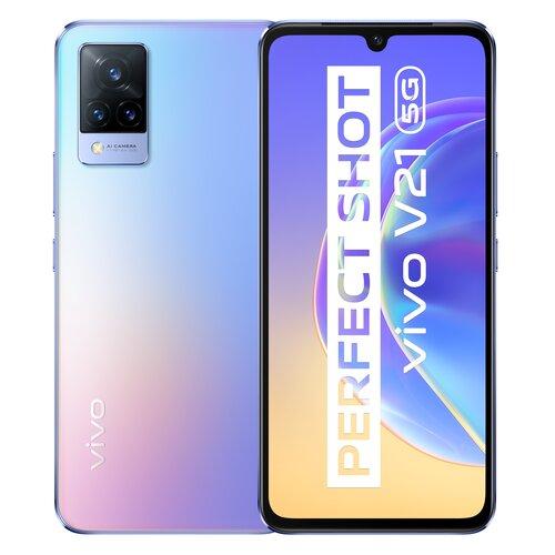 "Smartfon vivo V21 8/128GB 5G 6.44"" 90Hz 5G Niebiesko-fioletowy"