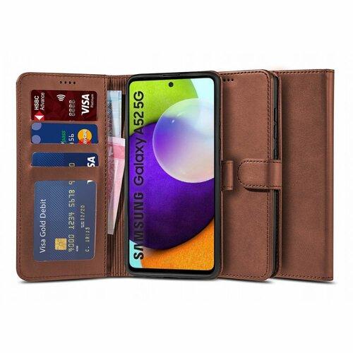 Etui TECH-PROTECT Wallet 2 do Samsung Galaxy A52 LTE / 5G Brązowy