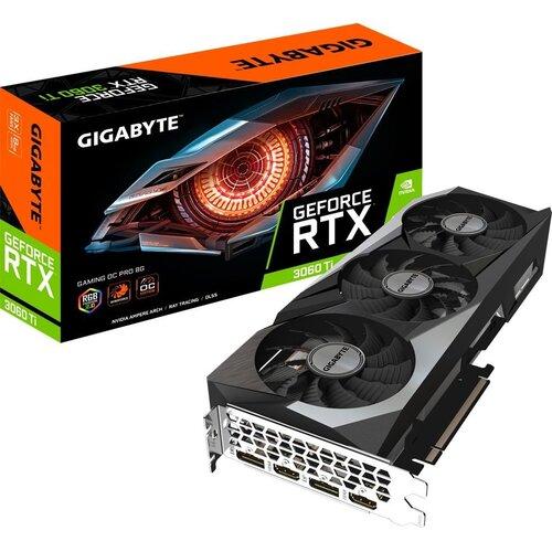 Karta graficzna GIGABYTE GeForce RTX 3060 Ti Gaming OC Pro LHR 8GB