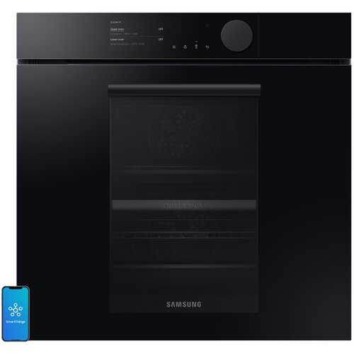 Piekarnik SAMSUNG NV75T8879RK EO Dual Cook Elektryczny parowy Czarny A+