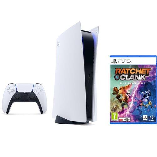 Konsola SONY PlayStation 5 + Ratchet & Clank: Rift Apart