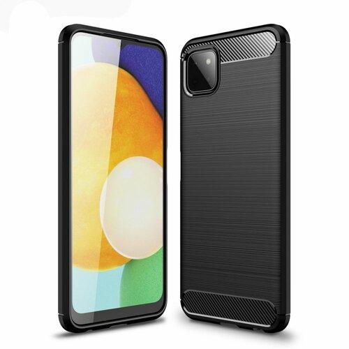Etui TECH-PROTECT TPUCarbon do Samsung Galaxy A22 5G Czarny
