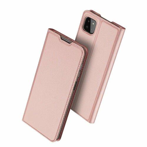 Etui DUXDUCIS SkinPro do Samsung Galaxy A22 5G Różowy