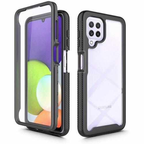 Etui TECH-PROTECT Defense360 do Samsung Galaxy A22 LTE Czarny