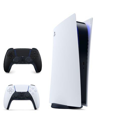 Konsola SONY PlayStation 5 Digital + Kontroler DualSense Czarny