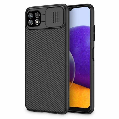 Etui NILLKIN Camshield do Samsung Galaxy A22 5G Czarny
