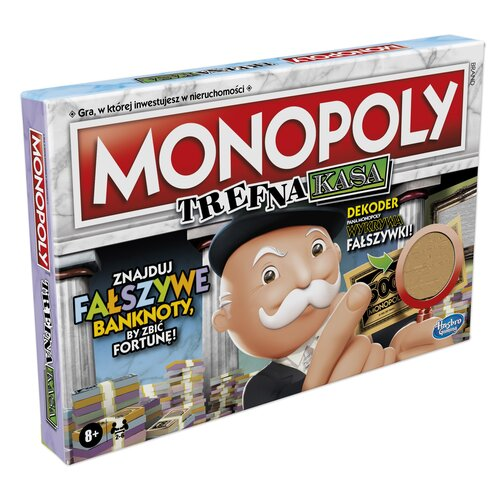Gra planszowa HASBRO Monopoly Trefna Kasa