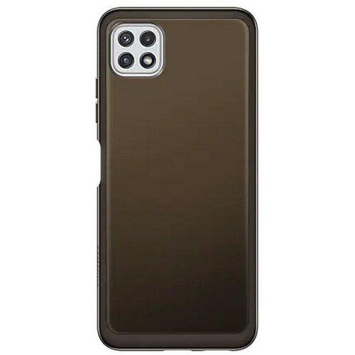 Etui SAMSUNG Soft Clear Cover do Galaxy A22 5G Czarny
