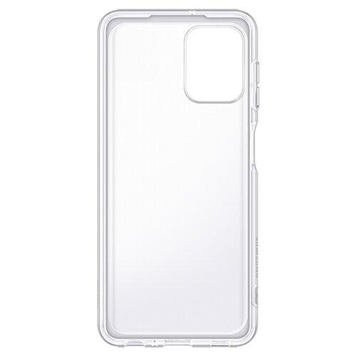 Etui SAMSUNG Soft Clear Cover do Samsung Galaxy A22 LTE Przezroczysty