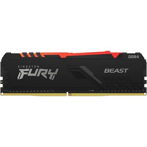 Pamięć RAM KINGSTON Fury Beast RGB 8GB 2666MHz