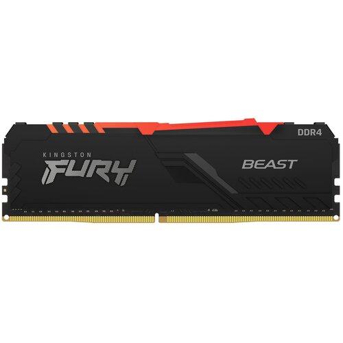 Pamięć RAM KINGSTON Fury Beast RGB 16GB 2666MHz