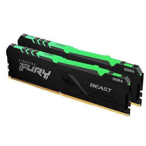 Pamięć RAM KINGSTON Fury Beast RGB 32GB 2666MHz