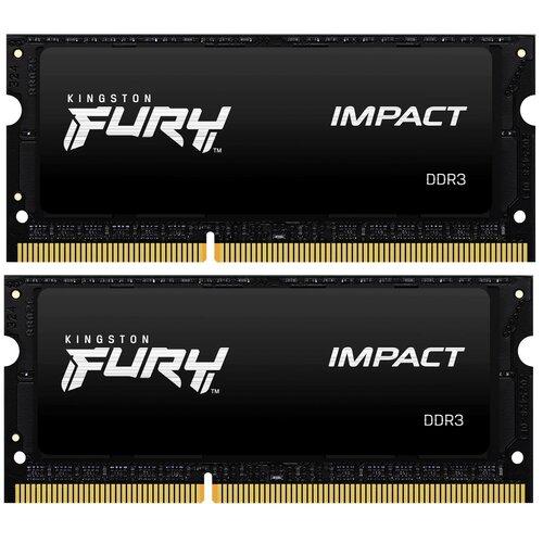 Pamięć RAM KINGSTON Fury Impact 8GB 1600MHz