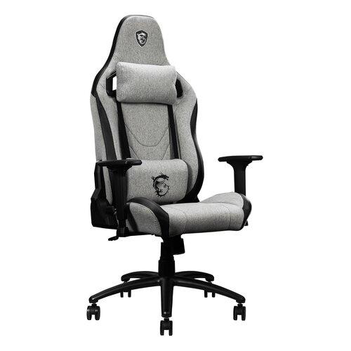 Fotel MSI MAG CH130 I Fabric Czarno-szary