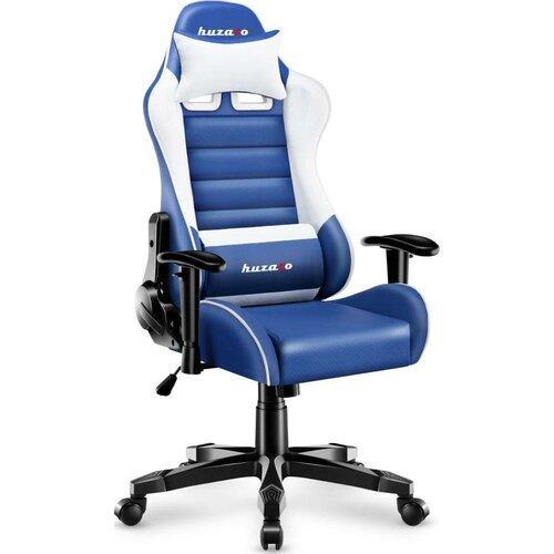 Fotel HUZARO Ranger 6.0 Biało-niebieski