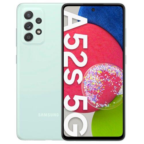"Smartfon SAMSUNG Galaxy A52s 6/128GB 5G 6.5"" 120Hz Zielony SM-A528"