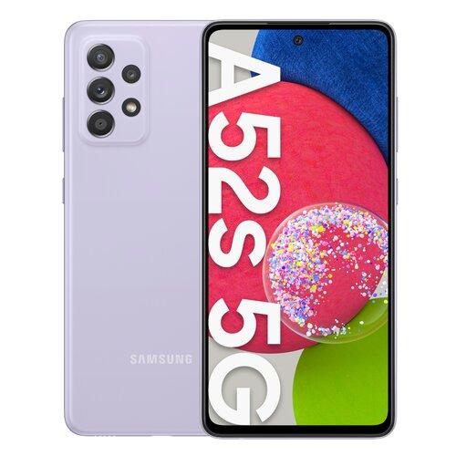 """Smartfon SAMSUNG Galaxy A52s 6/128GB 5G 6.5"""" 120Hz Lawendowy SM-A528"""