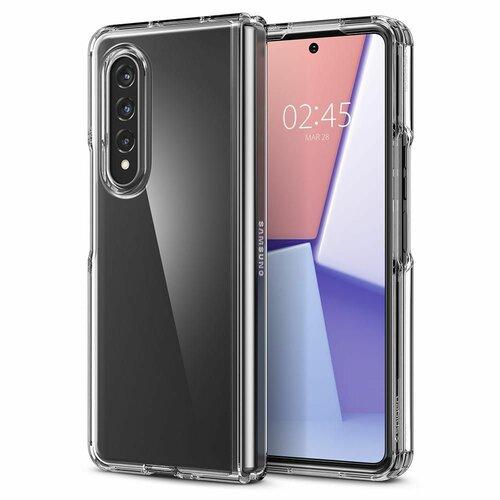 Etui SPIGEN Ultra Hybrid do Samsung Galaxy Z Fold 3 Przezroczysty