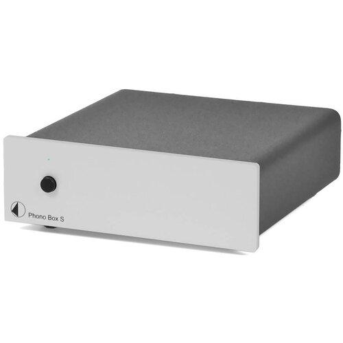 Przedwzmacniacz gramofonowy PRO-JECT Phono S Box Srebrny