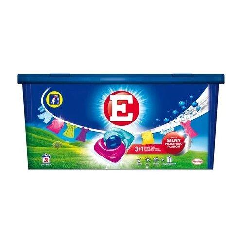 Kapsułki do prania E Power Caps Color 28 szt.