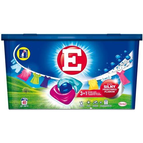 Kapsułki do prania E Power Caps Color 40 szt.
