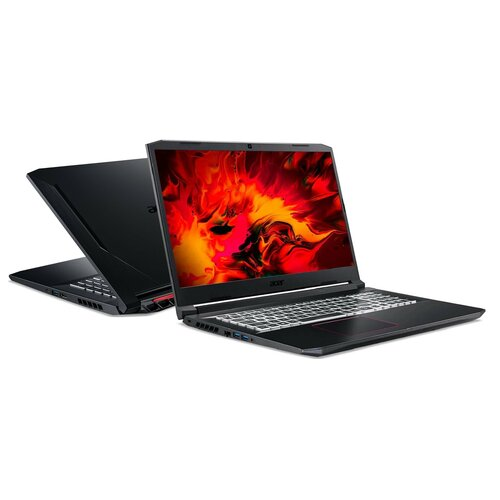"Laptop ACER Nitro 5 AN517-52 17.3"" IPS 144Hz i7-10750H 16GB SSD 512GB GeForce RTX3060"