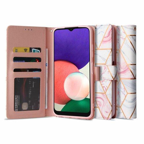 Etui TECH-PROTECT Wallet do Samsung Galaxy A22 5G Różowy