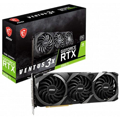 Karta graficzna MSI GeForce RTX 3080 Ti Ventus 3X LHR 12GB