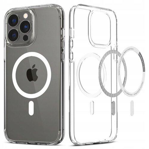 Etui SPIGEN Ultra Hybrid Mag MagSafe do Apple iPhone 13 Pro Przezroczysto-biały