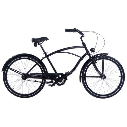 Rower miejski PLUMBIKE Rider Arrow 7B 26 cali męski Czarny