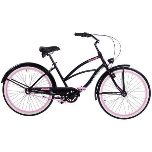 Rower miejski PLUMBIKE La Donna Rozzi 3B 26 cali damski Czarny