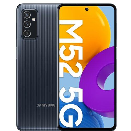 """Smartfon SAMSUNG Galaxy M52 6/128GB 5G 6.7"""" 120Hz Czarny SM-M526"""