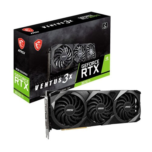 Karta graficzna MSI GeForce RTX 3070 Ti Ventus 3X LHR 8GB