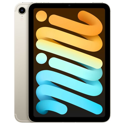 "Tablet APPLE iPad mini 8.3"" 6 gen. 256GB 5G Wi-Fi Księżycowa poświata"