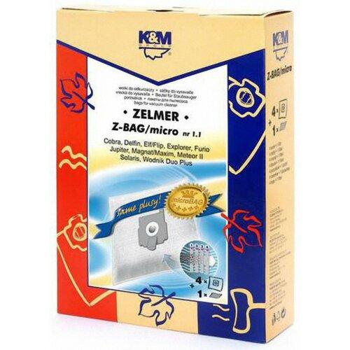 Worek do odkurzacza K&M Z-BAG Micro (4 sztuki)