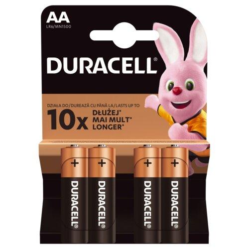 Baterie AA LR6 DURACELL Basic (4 szt.)