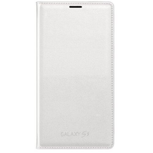Etui SAMSUNG GALAXY S5 Flip Wallet biały EF-WG900BWEGWW