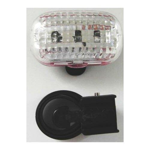 Lampka przód 3 diody LED 3 funkcje (KRYSZTAŁ)
