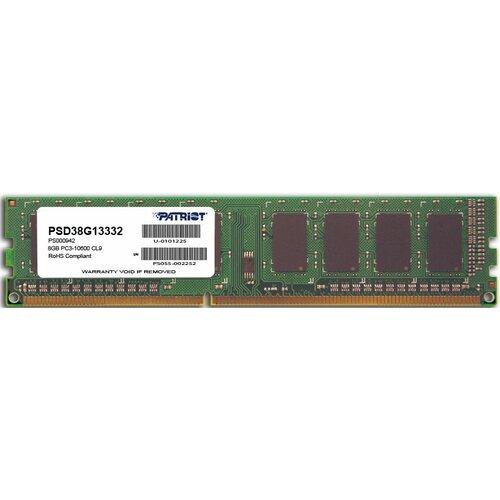 Pamięć RAM PATRIOT 8GB 1333MHz Signature (PSD38G13332)