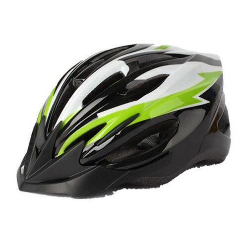 Kask rowerowy KROSS MTB Best 037LGR Wielokolorowy dla Dzieci (rozmiar L)