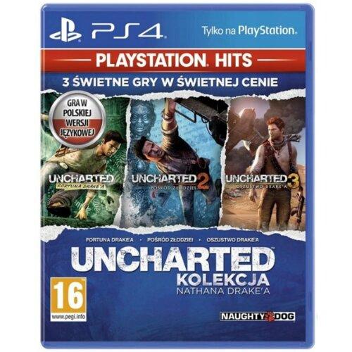 Uncharted: Kolekcja Nathana Drakea Gra PS4 (Kompatybilna z PS5)