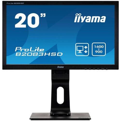 """Monitor IIYAMA ProLite B2083HSD 20"""" 1600x900px"""