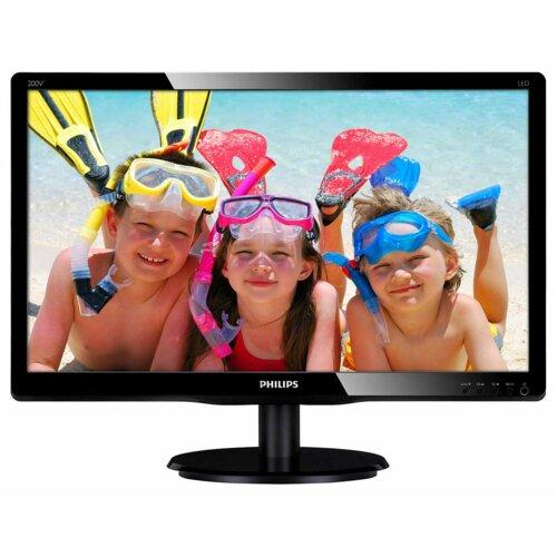 "Monitor PHILIPS 200V4QSBR 20"" 1920x1080px"