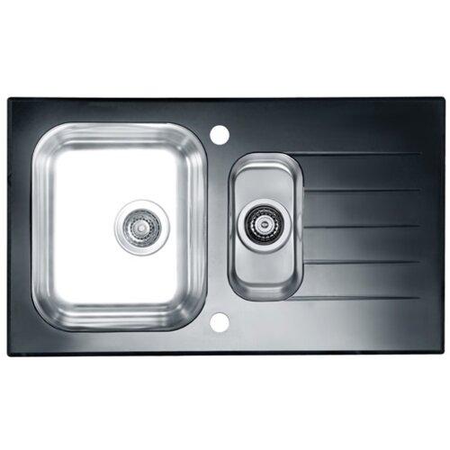 Zlewozmywak ALVEUS Glassix 20 POP-UP 3 1/2 1100015 Satyna-czarny